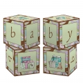 Parenthood Baby Shower Block Table Centrepiece 